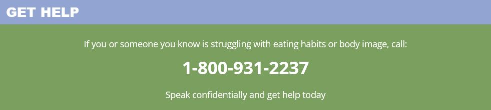 Imgage of Missouri Eating Disorder Council - Get Help Number